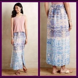 Anthropologie Maeve Waimea maxi skirt